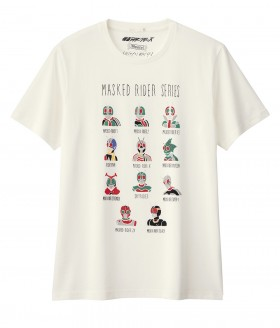T-shirts Graphic for  g.u + MASKED RIDER