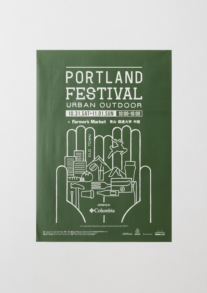 GRAPHIC TOOLS for PORTLAND FESTIVAL