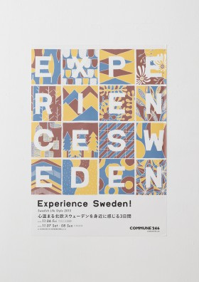 POSTER DESIGN for EXPERIENCE SWEDEN!